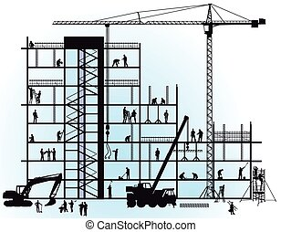 nouveau, construction