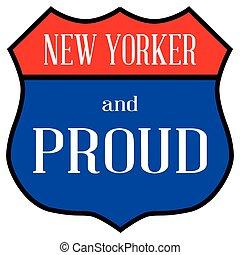 nouveau, fier, yorker