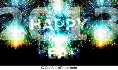 nouveau, heureux, 2013, année