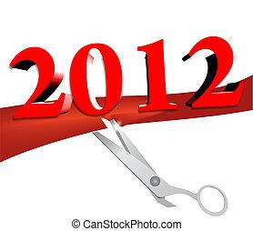 nouveau, inauguration, année