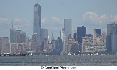 nouveau, inférieur, ville, manhattan, york