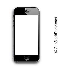 nouveau, intelligent, téléphone