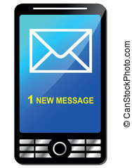 nouveau, message