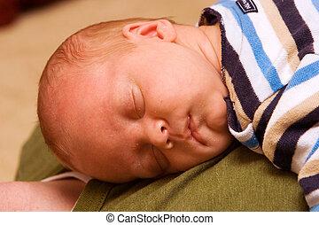 nouveau né, dormir