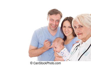 nouveau né, médecin de famille