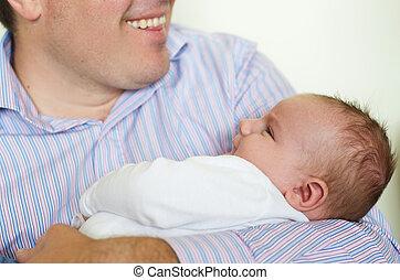 nouveau-né, père