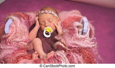 nouveau-né, peu, dormir