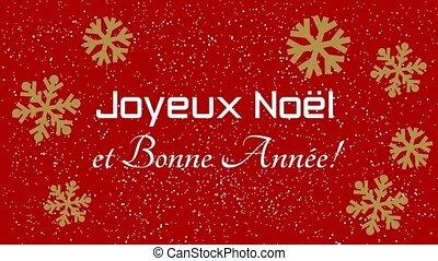 nouveau, noël, heureux, joyeux, année