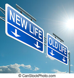 nouveau, ou, vieux, life.