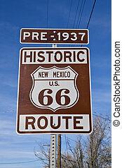 nouveau, parcours, mexique, 66, signe