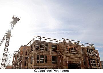 nouveau, site construction