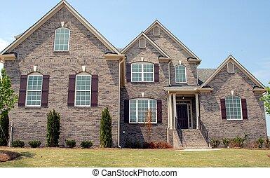nouveau, vente, maisons
