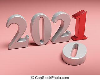 nouveau, vieux, remplace, 2020, année, 2021