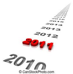nouvel an, 2011