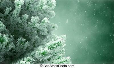 nouvel an, arbre