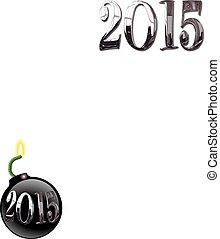 nouvel an, invitation