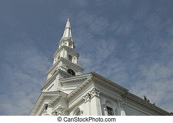 nouvelle-angleterre, église