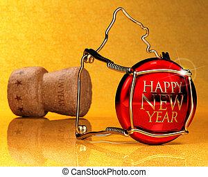 nouvelle année, invitation