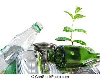 nouvelle vie, depuis, déchets ménagers