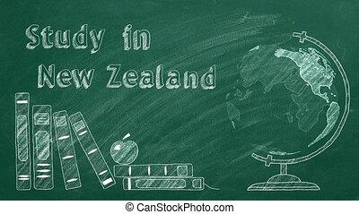 nouvelle zélande, étude