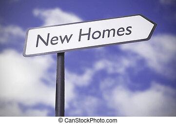 nouvelles maisons