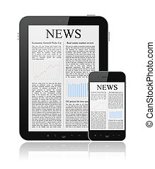 nouvelles, moderne, appareils, numérique