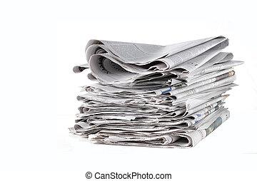 nouvelles, papiers