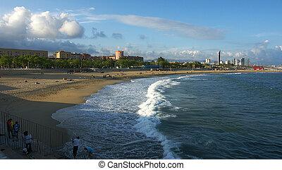 Nova Icaria Beach in Barcelona