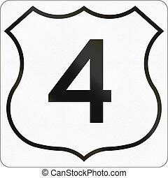 Nova Scotia Trunk Highway 4 - Route marker for Nova Scotia ...