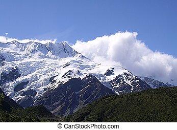 nova zelândia, montanhas