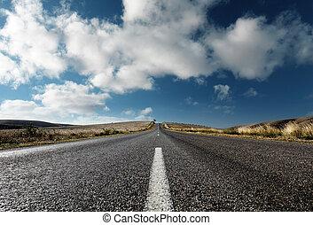 novamente, estrada