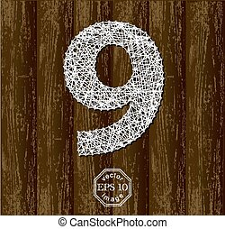 nove, numero