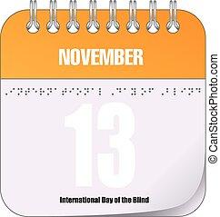 November 13 Day Blind