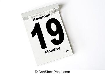 november, 19., 2012