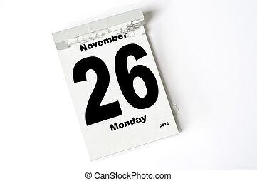 november, 26., 2012