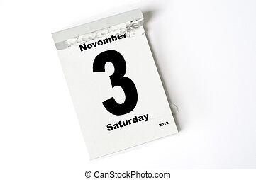november, 3., 2012