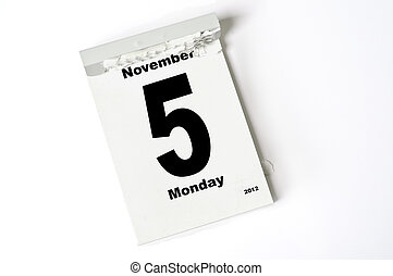 november, 5., 2012