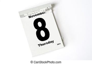 november, 8., 2012