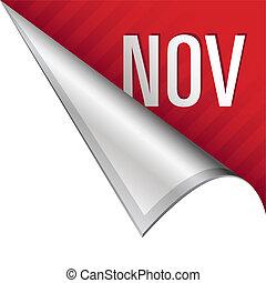 November corner tab
