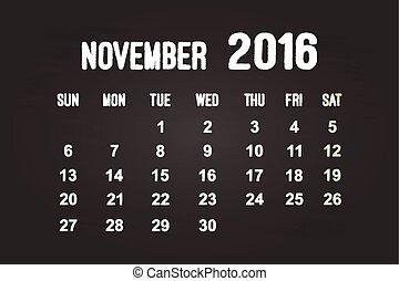 November Month 2016