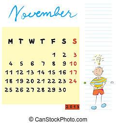 novembre, gosses, 2013