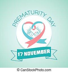 novembro, prematurity, 17, dia