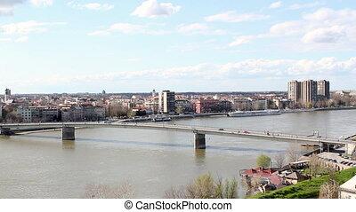 Novi Sad city Serbia