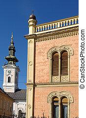 Novi Sad Sebia, Vojvodina - Specific architecture of city...
