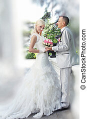 novia y novio, boda
