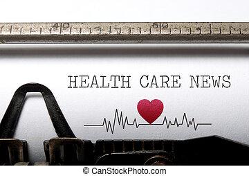 novinka, zdravotní stav péče
