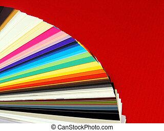 noviny, ukázky, jako, business cards
