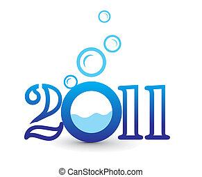 novo, 2011, fundo, ano