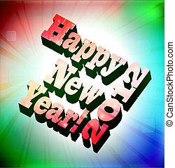 novo, 2012, feliz, ano