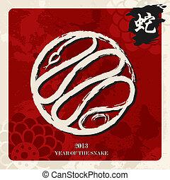novo, 2013, cobra, chinês, ano